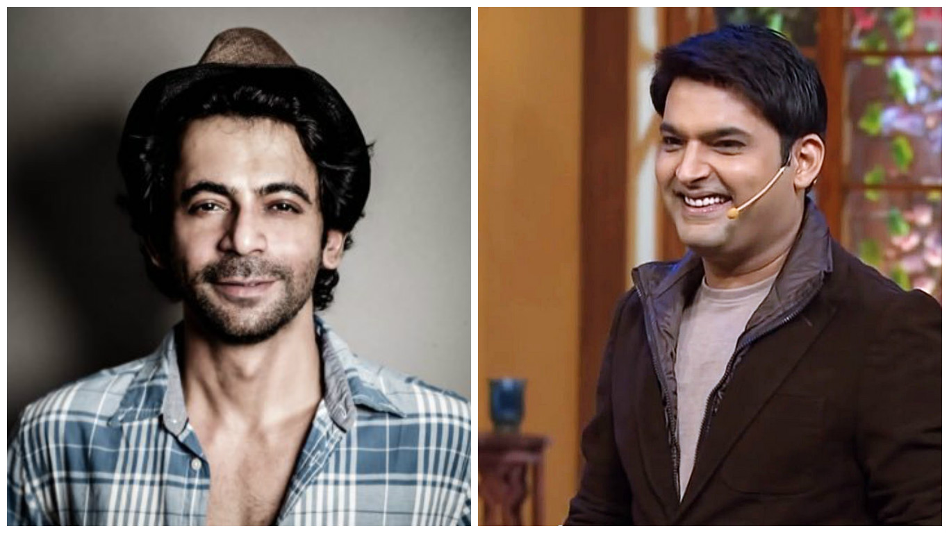 Sunil Grover (left) and Kapil Sharma.