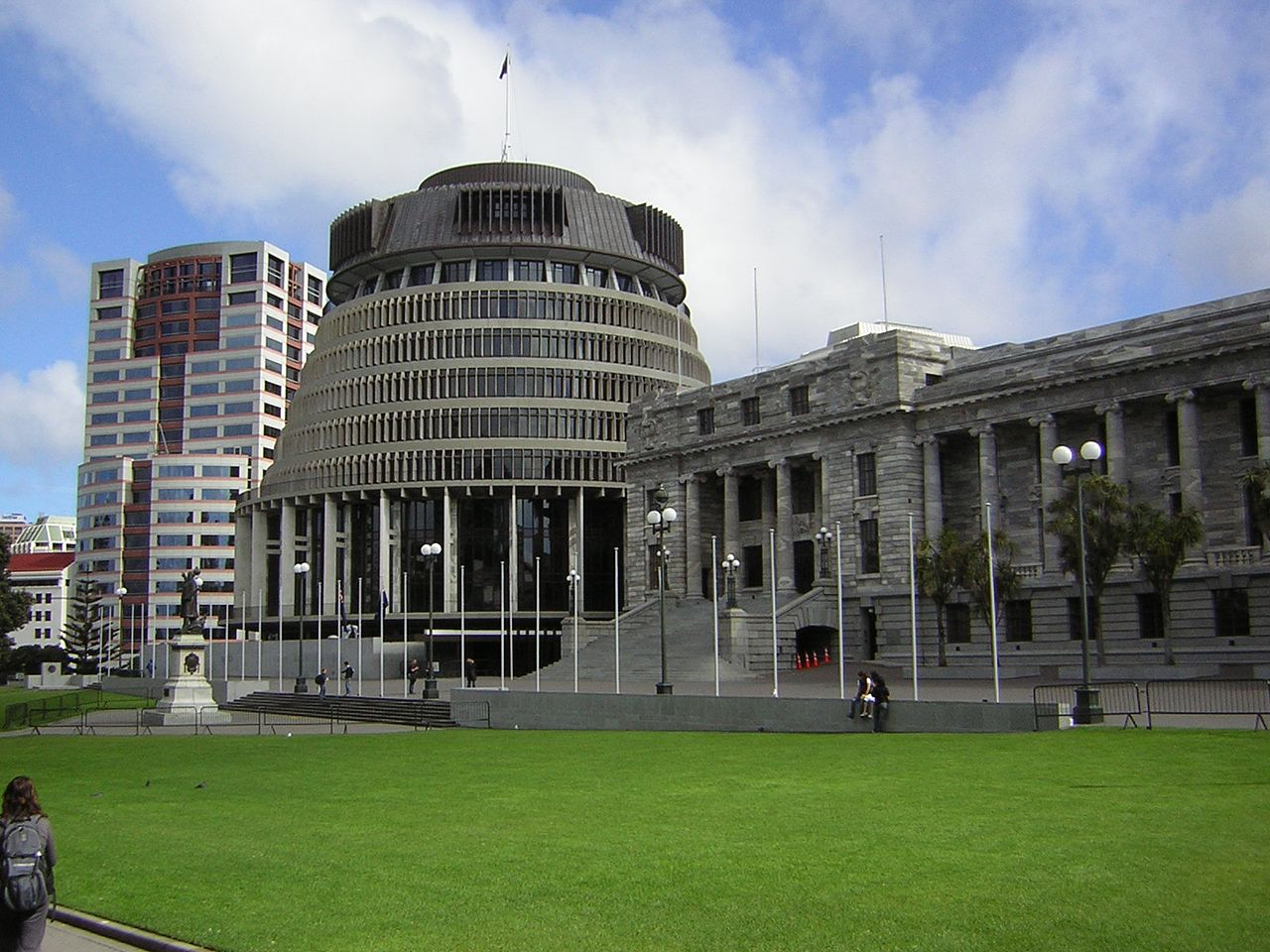 New Zealand Parliament Building.