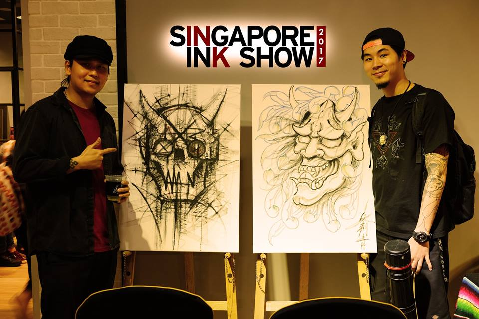 Photo courtesy: Singapore Ink Show FB