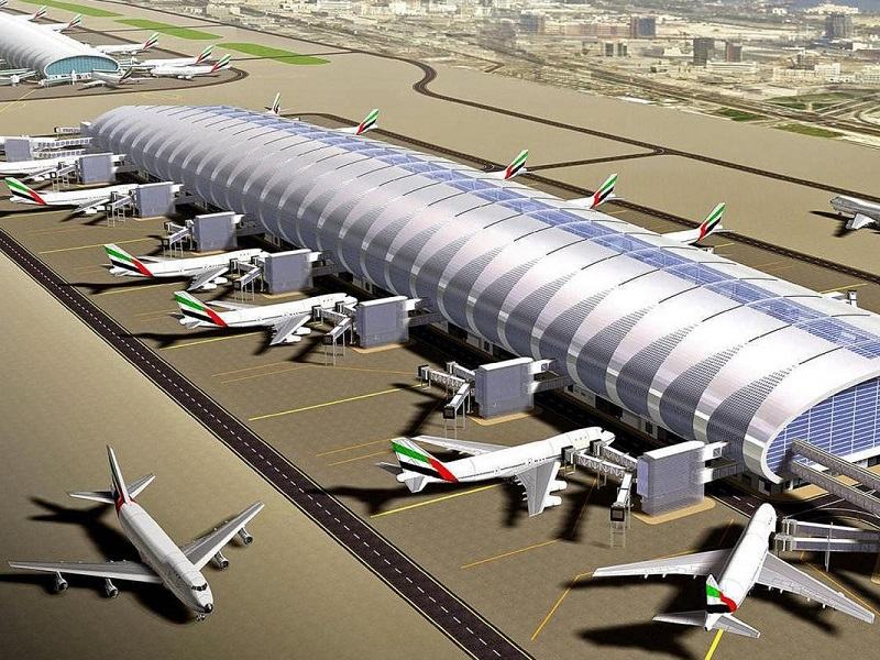 Dubai airport has become the world's busiest airport for international travellers.