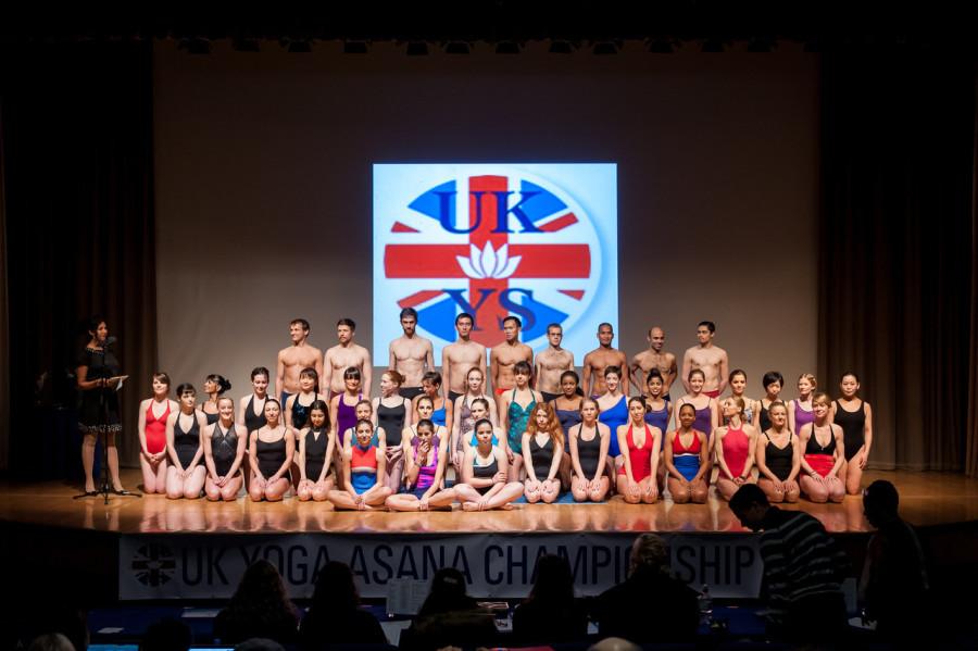 The UK yogasana championship kick off.