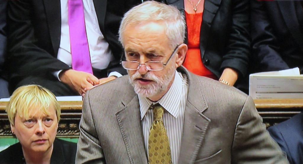 Labour leader. Jeremy Corbyn.