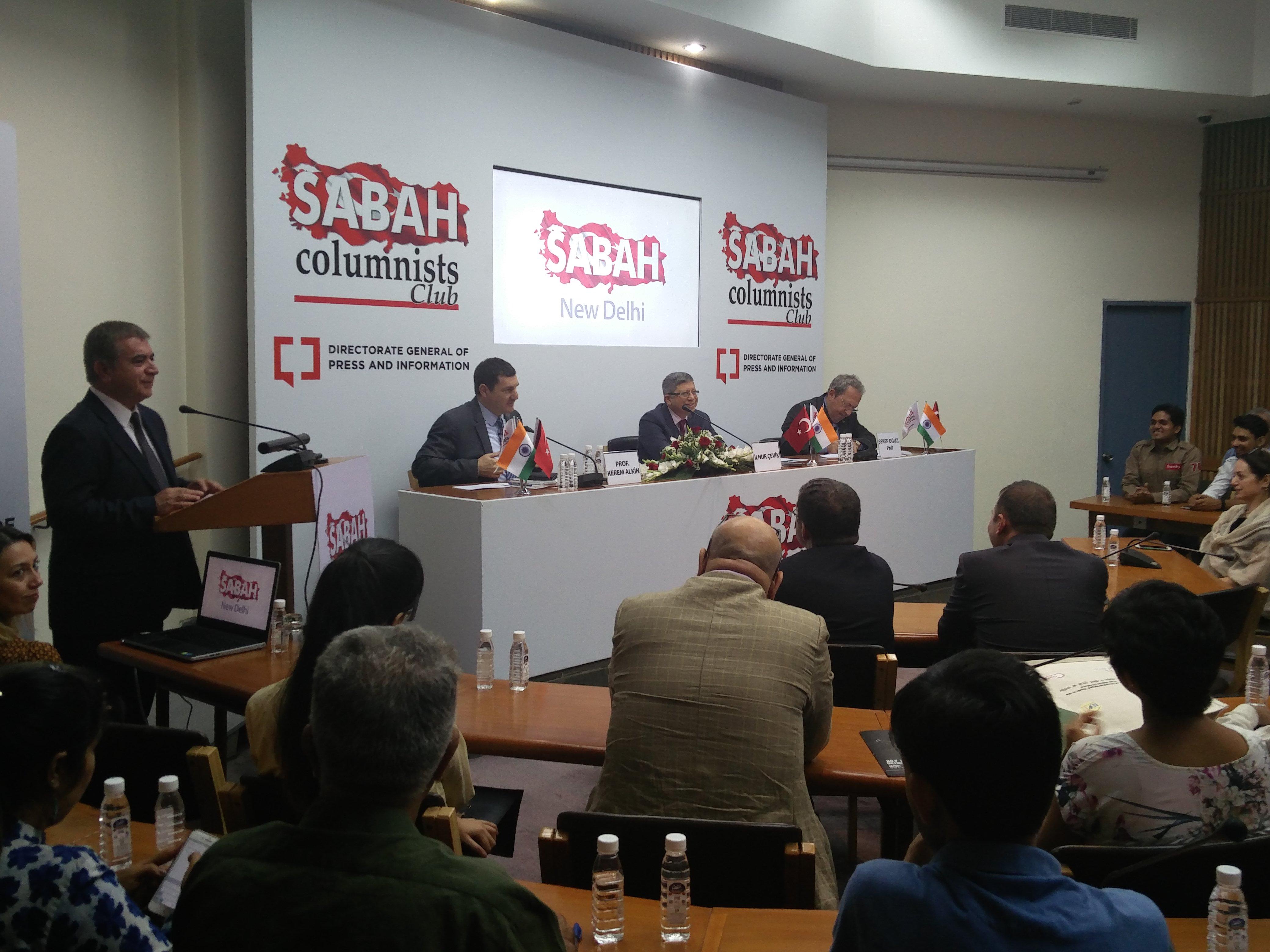 The Sabah talk