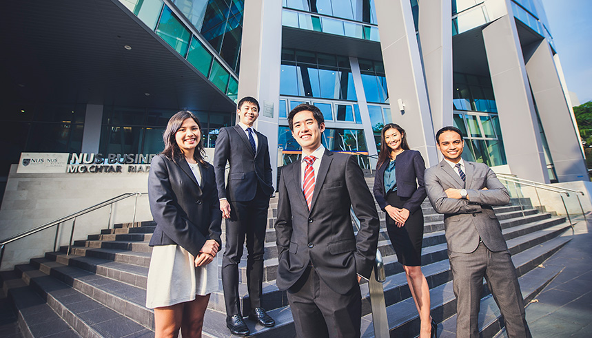 NUS MBA graduates get an annual salary of USD 132,000.