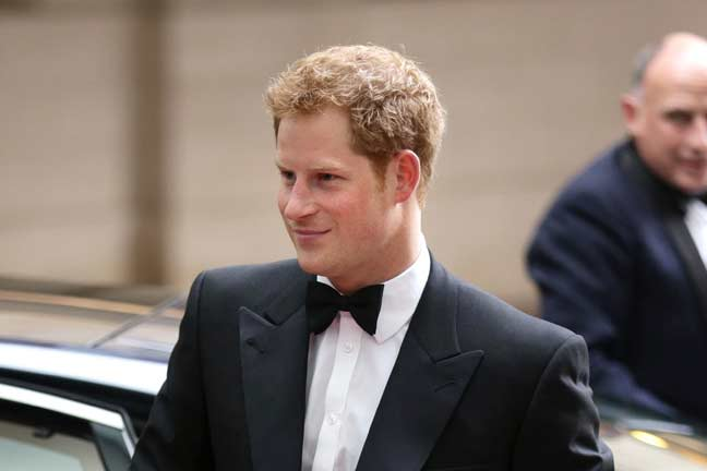 Prince Harry is heading down-under