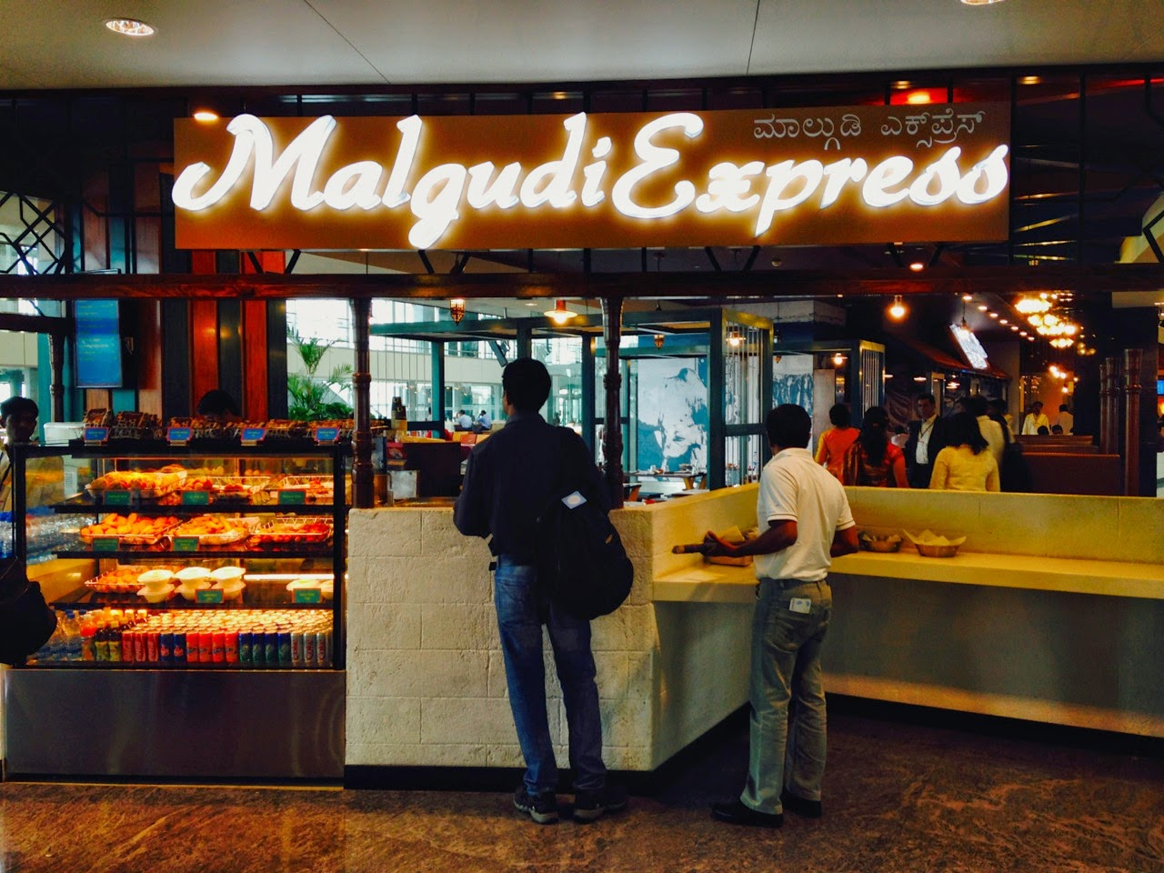 Fast food outlet in Bangalore.