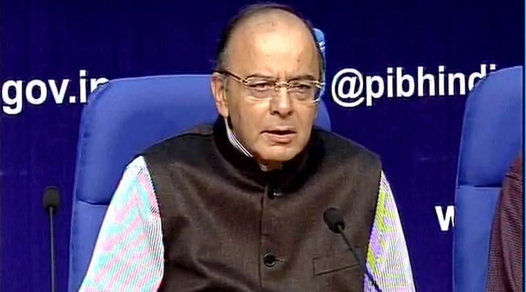 Indian Finance Minister Arun Jaitley.