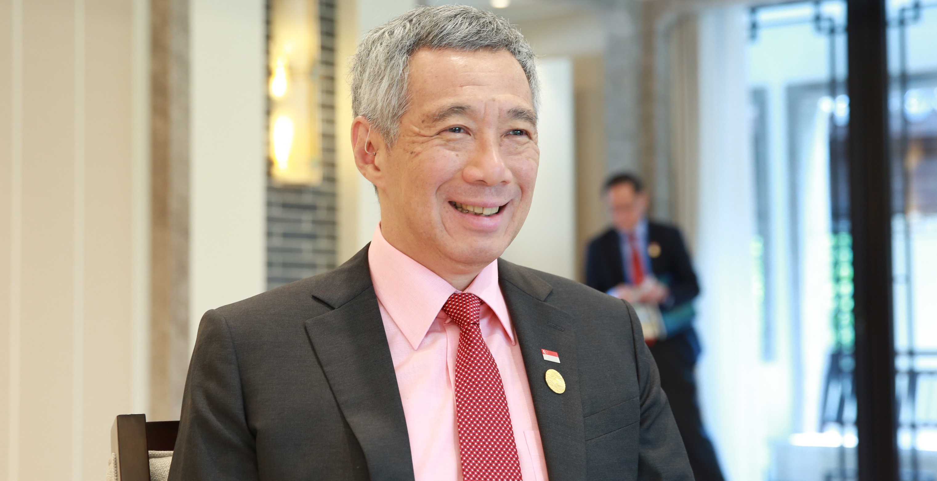 Lee Hsien Loong, Prime Minister of Singapore.