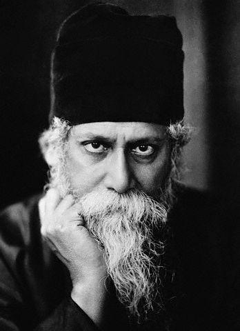 Rabindranath Tagore Photo: Wikimedia Commons