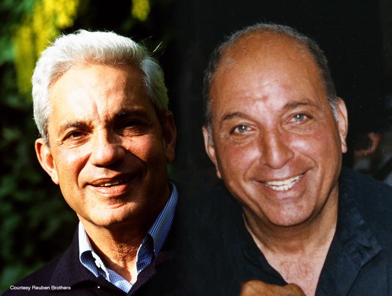 Simon (left) and David Reuben.
