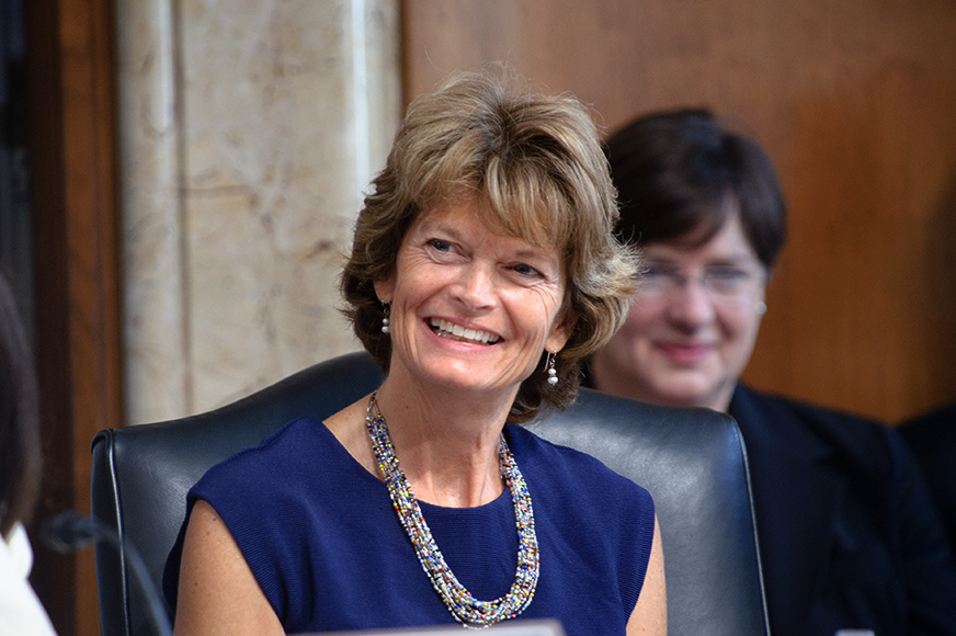 Senate Energy Chairwoman Lisa Murkowski.