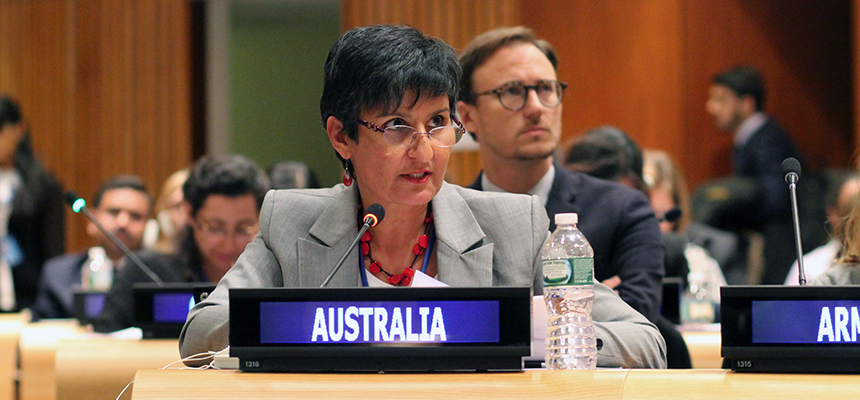 Australia's envoy to India Harinder Sidhu.
