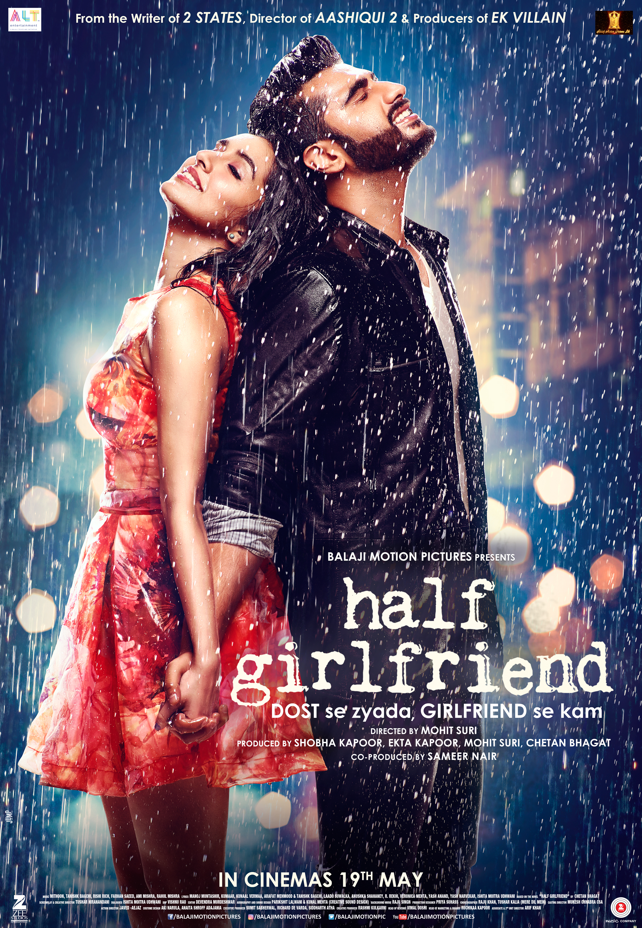 Half Girlfriend: Chetan's story, Arjun-Shraddha duo to weave magic on screen