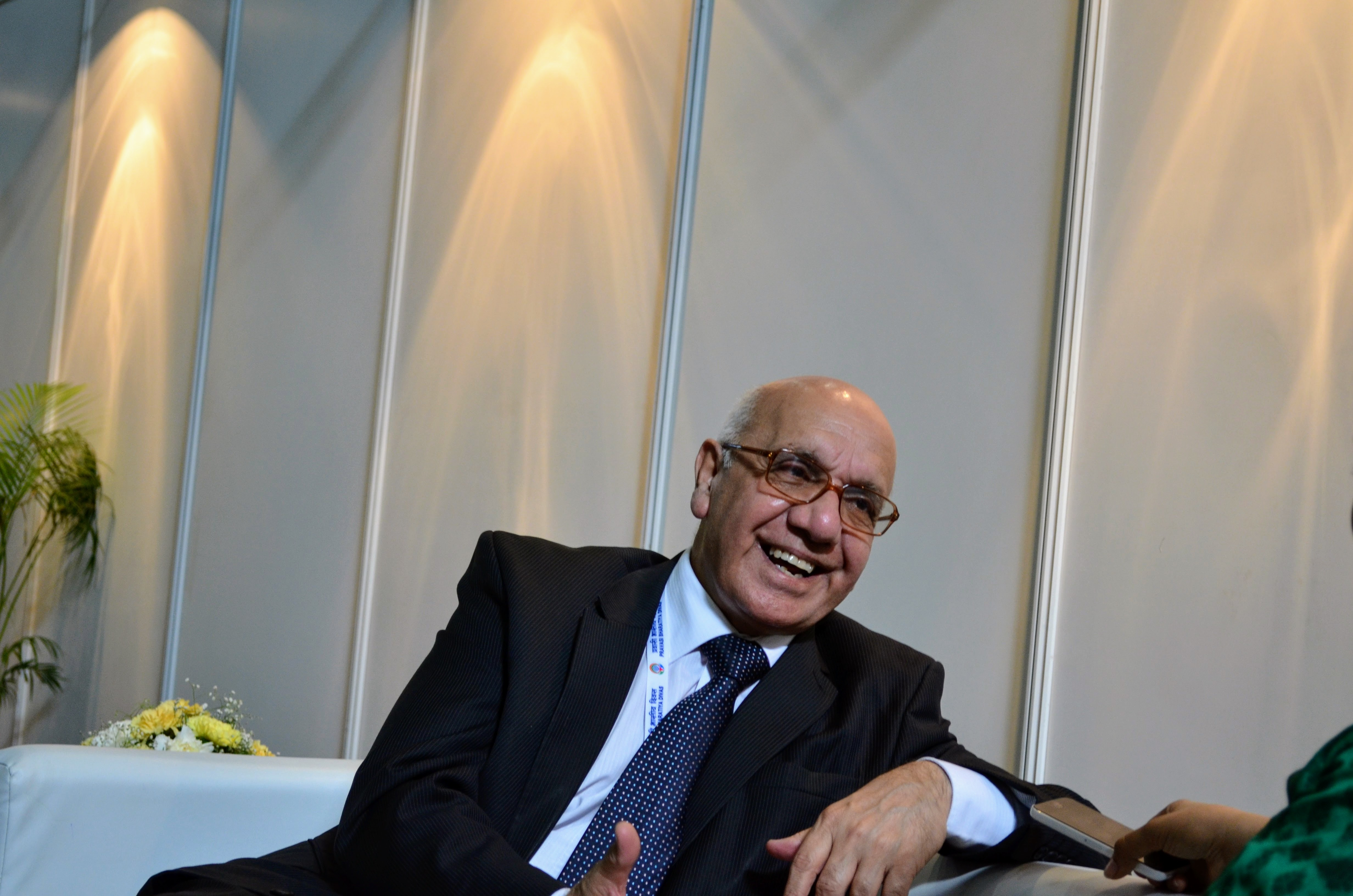 Virendra Sharma, an Indian-origin British Labour Party politician and the Member of Parliament (MP) for Ealing Southall since 2007 at the PBD 2017 convention Photo: Connected to India