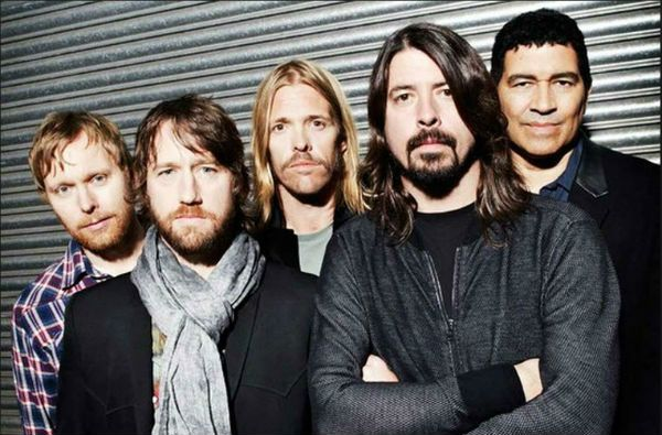 Rock band 'Foo Fighters'