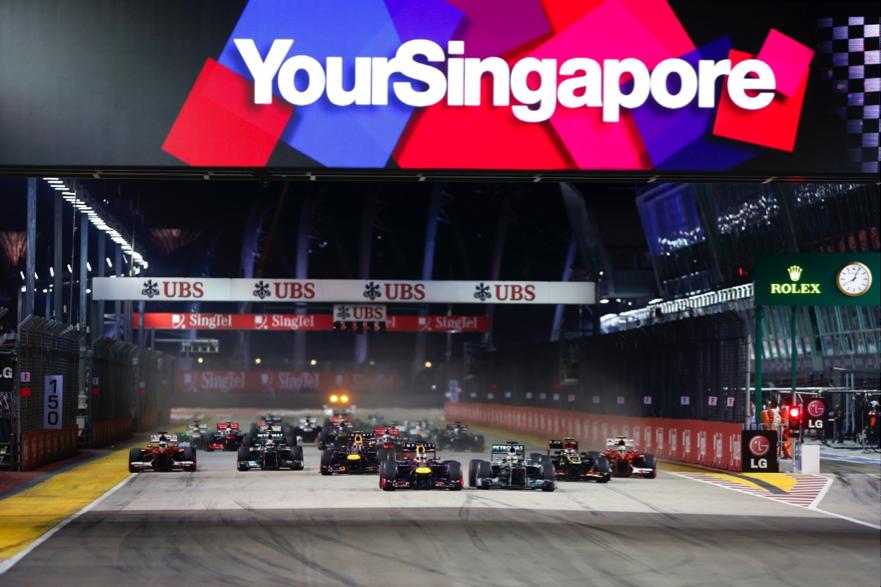 Formula 1 Singapore GP
