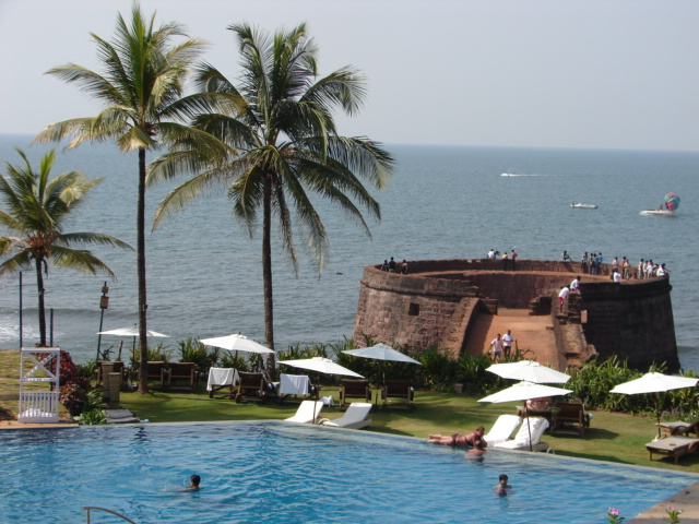 Fort Aguada Beach, Goa