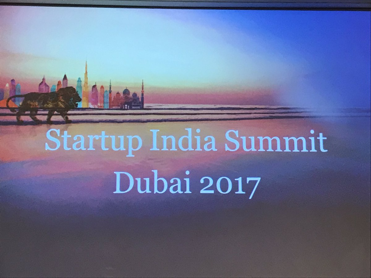 Startup India Summit in UAE