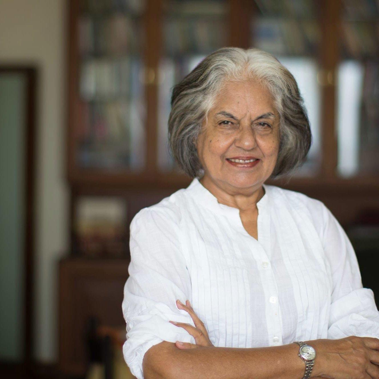 Indian rights lawyer Indira Jaising