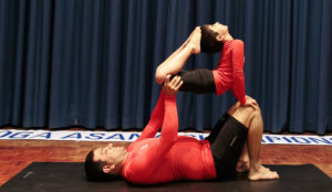 Ishwar and Dr Vishwanath in a joint pose.