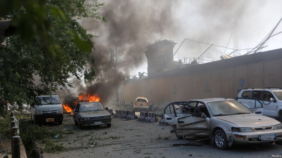 Kabul was left reeling after the explosion.