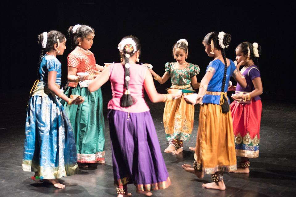 NATYAMELA 2017, annual performance of the students at Apsaras Arts Dance Academy. Photo courtesy : Rajesh Boddu