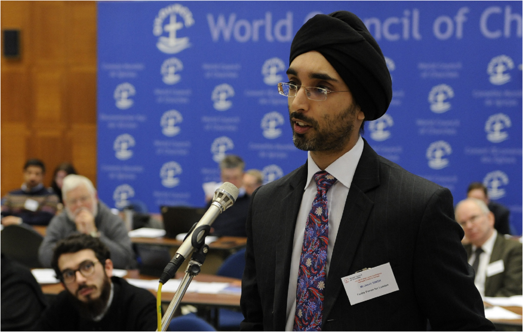 Jasvir Singh, founding chair of City Sikhs