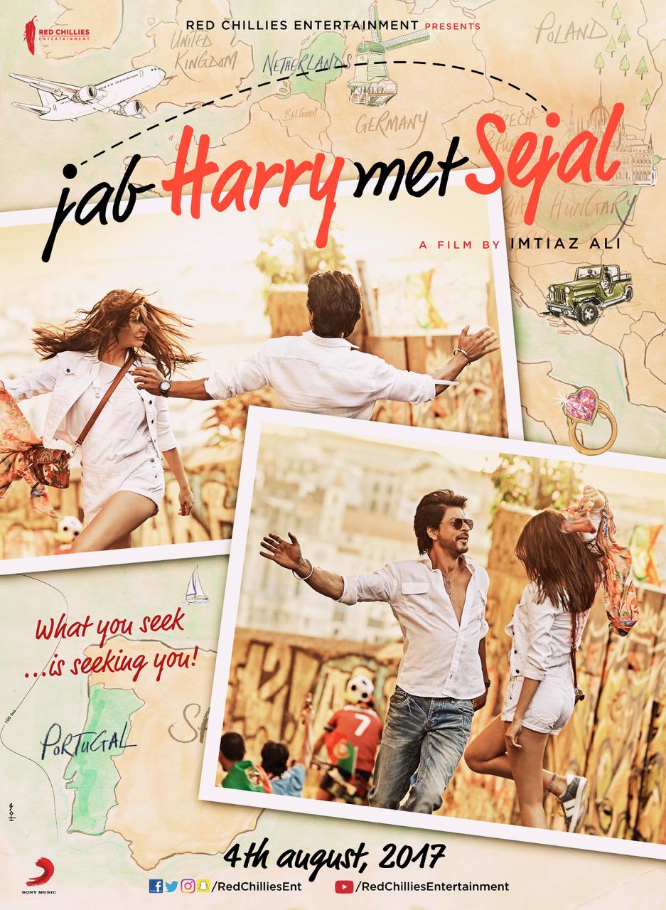 Jab Harry Met Sejal starring Anushka Sharma & Shah Rukh Khan, directed by Imtiaz Ali