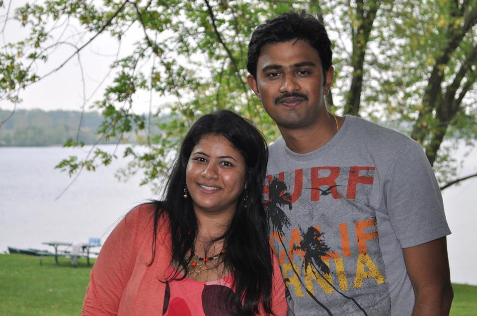 Sunayna Dumala and Srinivas Kuchibhotla.