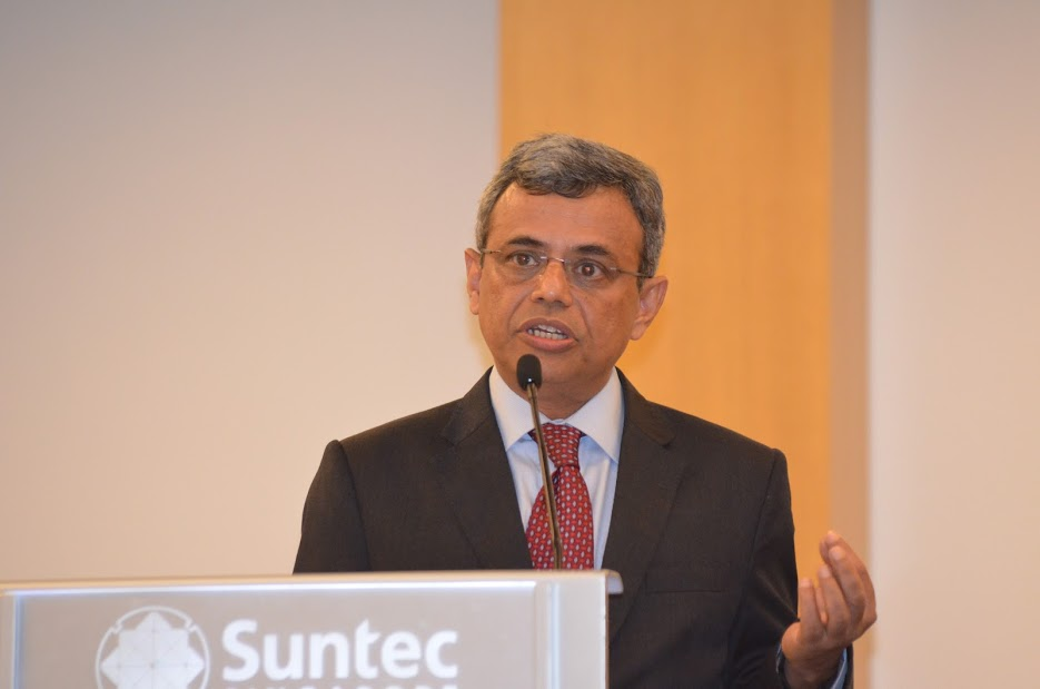 Javed Ashraf, Indian High Commissioner to Singapore.