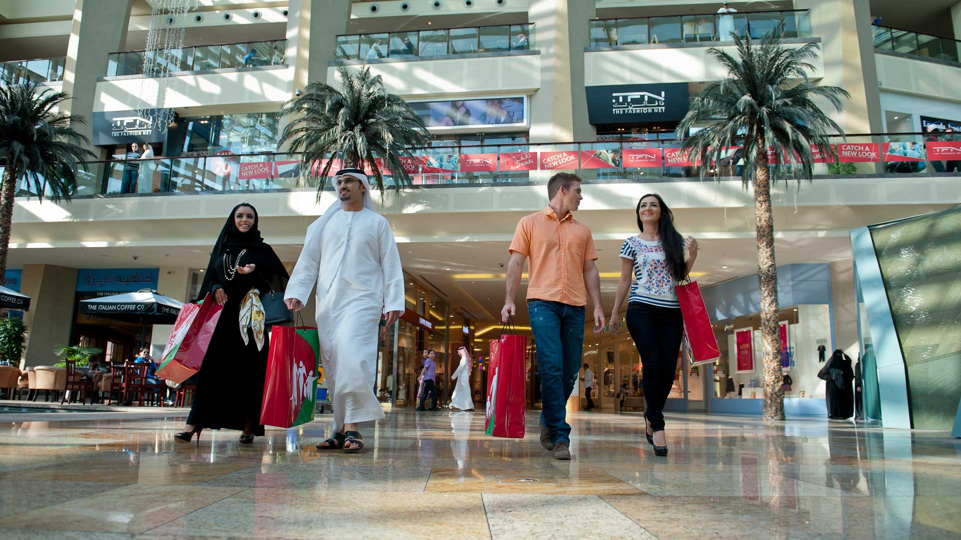 Shoppers can indulge in a shopping spree at various participating malls in Dubai.