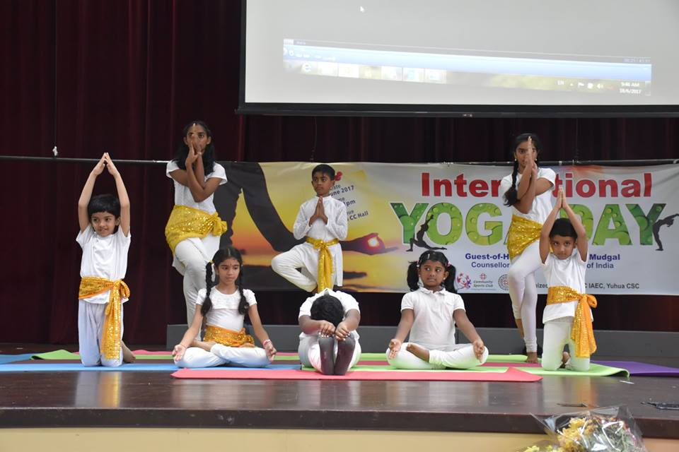 IDY session at Yuhua Community Centre. Photo courtesy: Huan Xing from RV Photography Club and Brenda from Pioneer Junior College