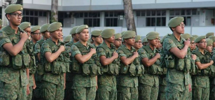 National servicemen will get free travel on public buses and trains on June 30.