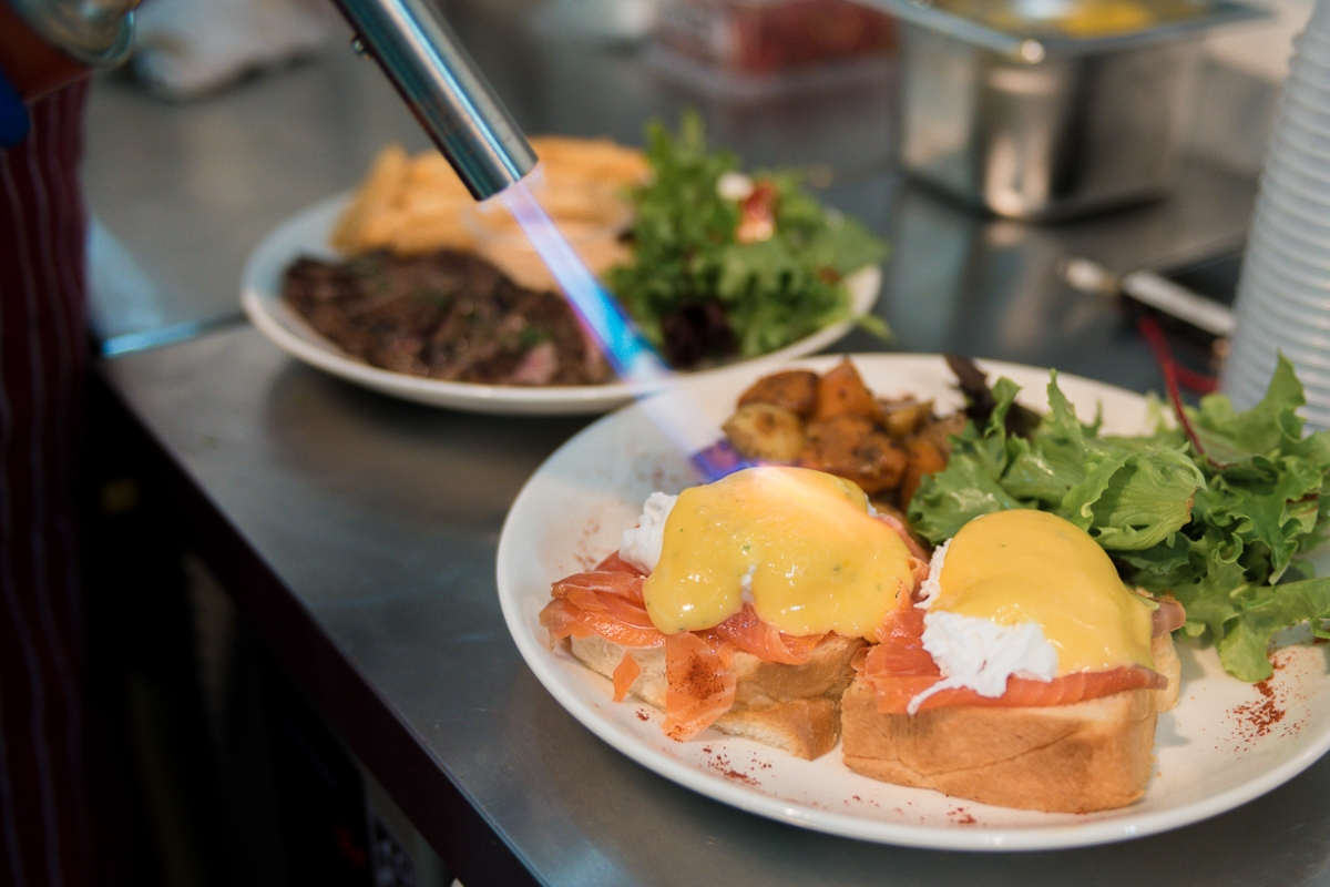 Do try their Eggs Royale! Photo courtesy: Royz Et Vous