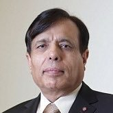Dr Kailash Chand, OBE.