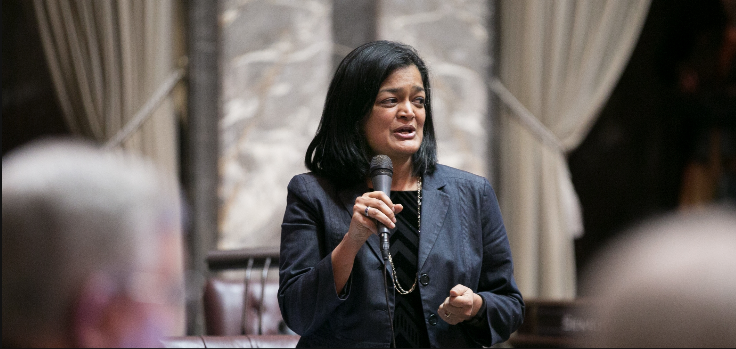 Congresswoman Pramila Jayapal. Photo courtesy: pramilaforcongress.com