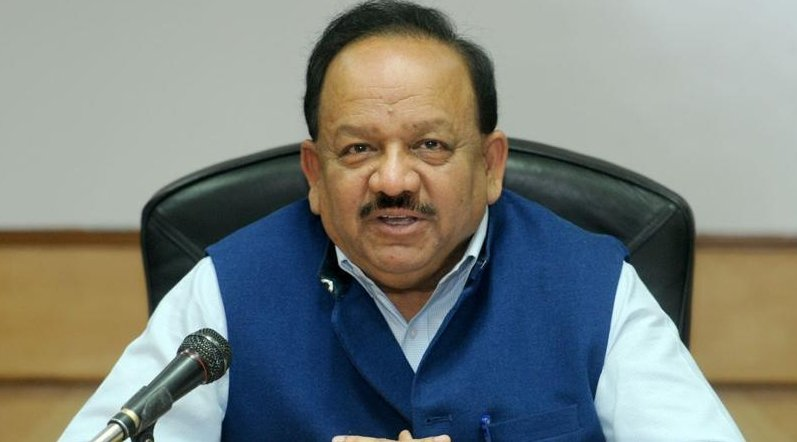 Indian SCience and Technology Minister Harsh Vardhan.