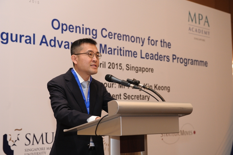 Andrew Tan, Chief Executive of Maritime and Port Authority of Singapore.