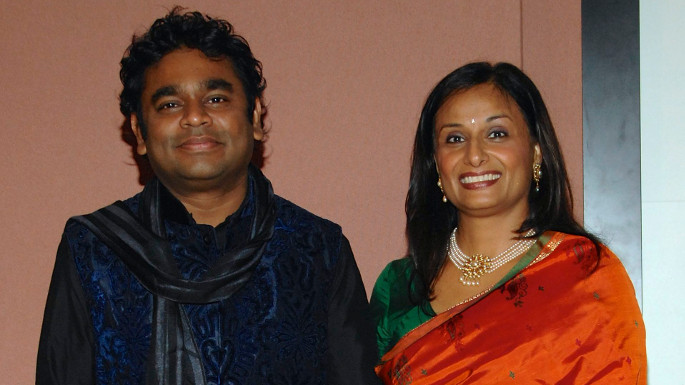Vocalist Ila Paliwal with famous Indian musician AR Rahman