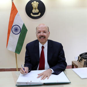 Nasim Zaidi, Chief Election Commissioner of India.