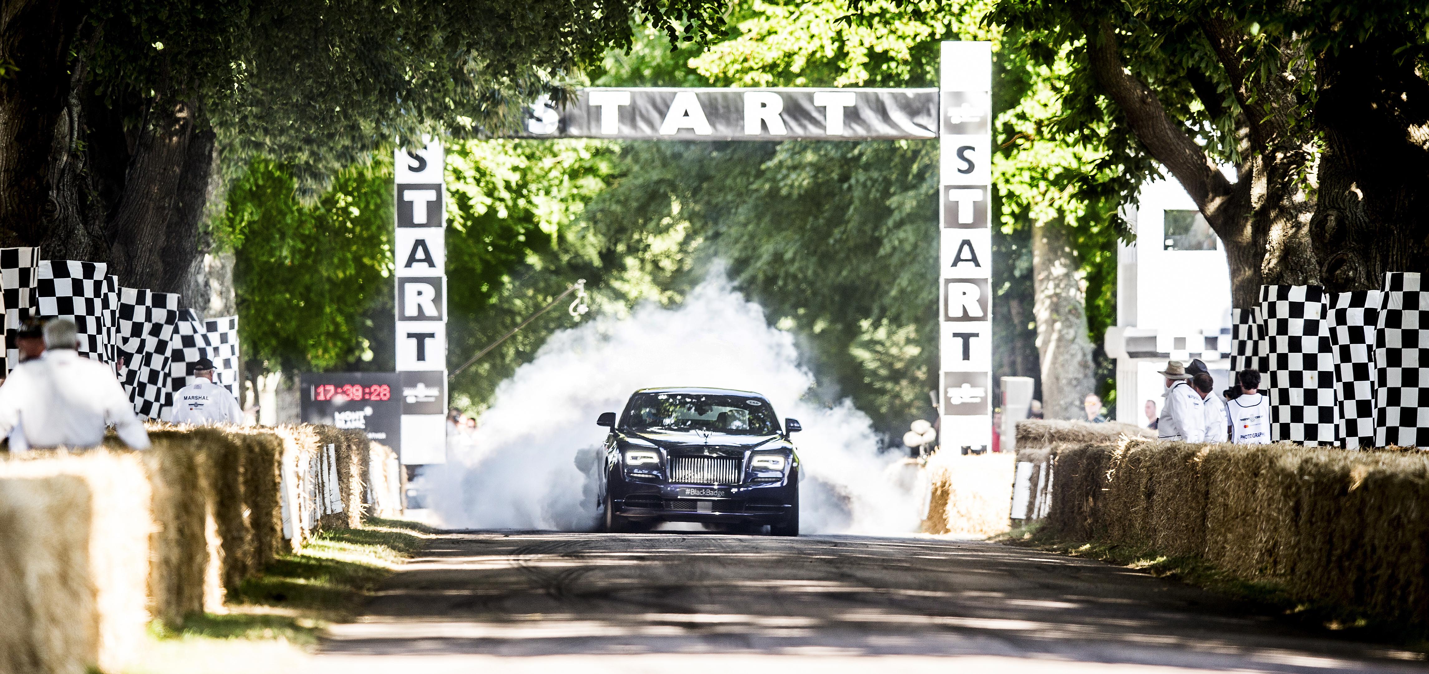 Rolls-Royce Wraith Black Badge. Photo courtesy: Rolls-Royce