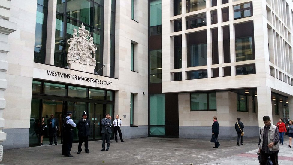 Westminster Magistrate's Court.