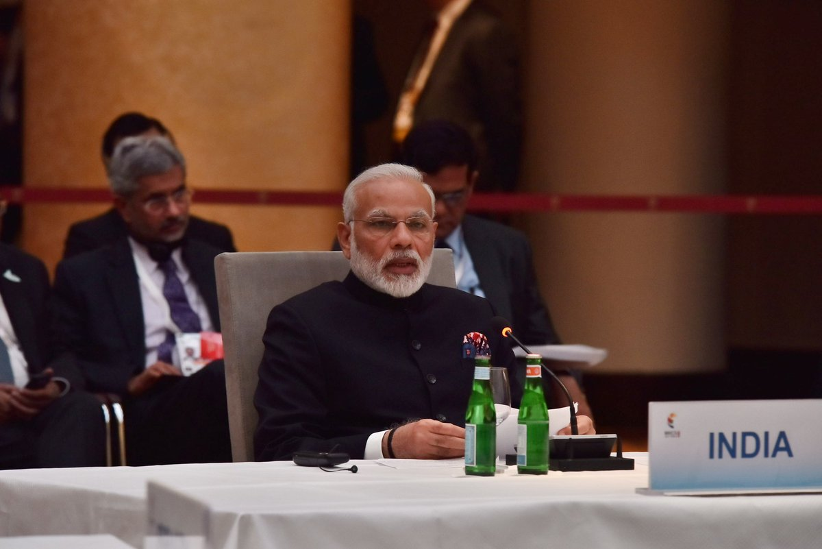 Modi's speech on tackling terrorism globally was widely-appreciated and well-received by the summit attendees.