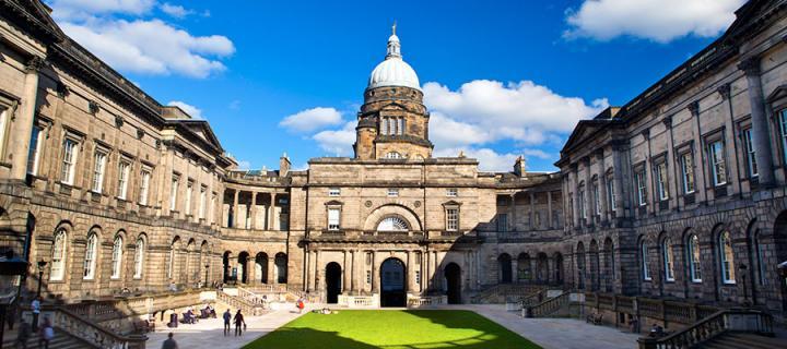 University of Edinburgh campus.
