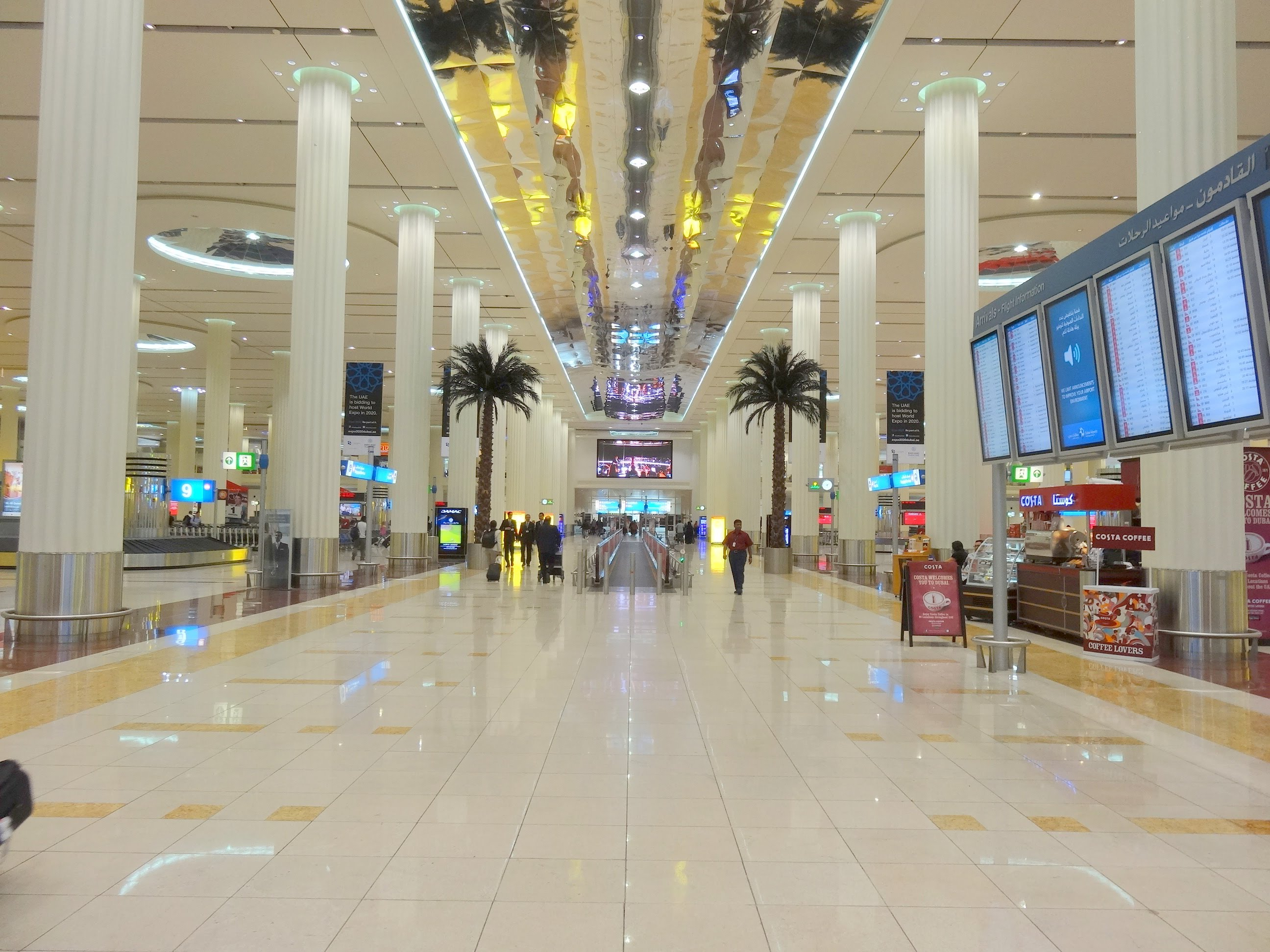 Dubai International Airport has fastest free Wi-Fi in Asia, Europe and Africa.