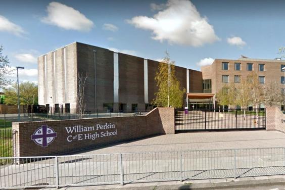 William Perkin High Church of England High School in Greenford