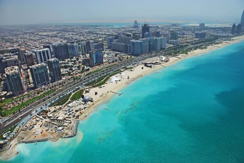 The city of Abu Dhabi is the most preferred city for Indians.
