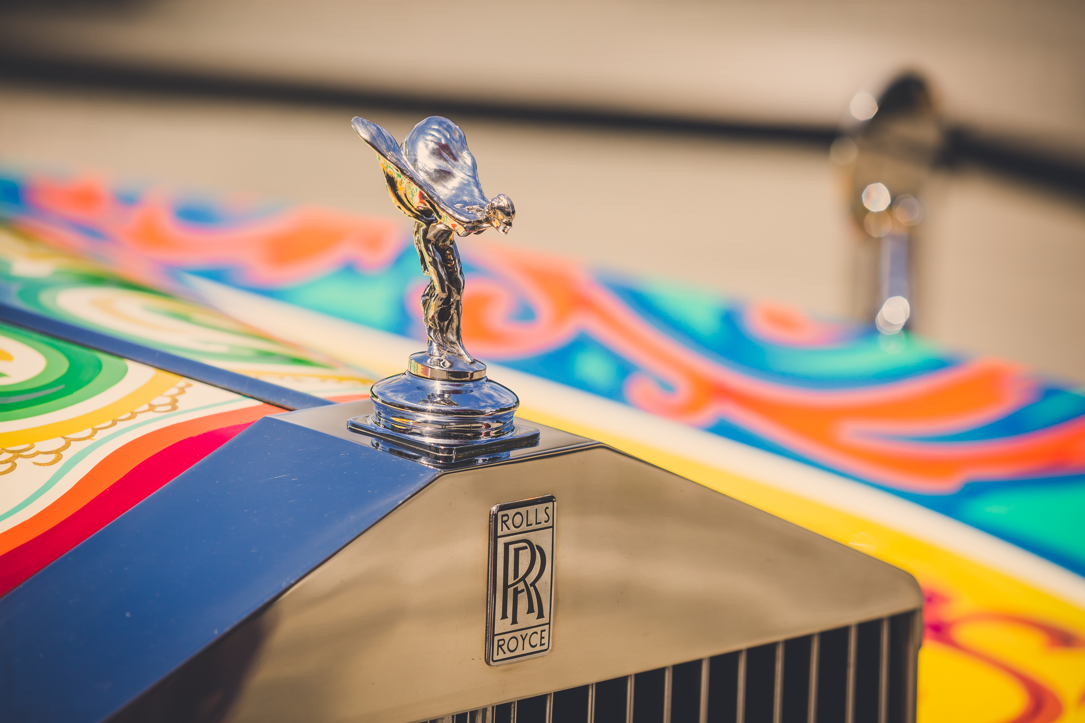 Spirit of Ecstasy. Photo courtesy: Rolls-Royce