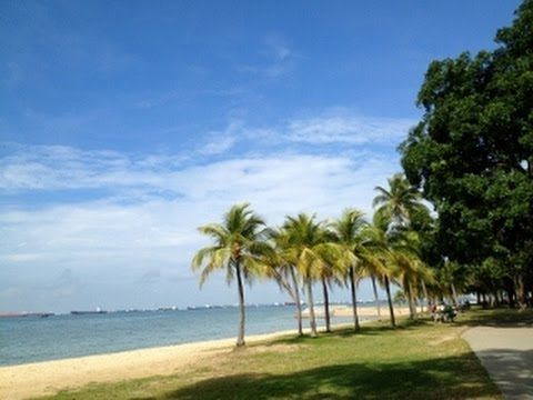 East Coast Park beach of Singapore