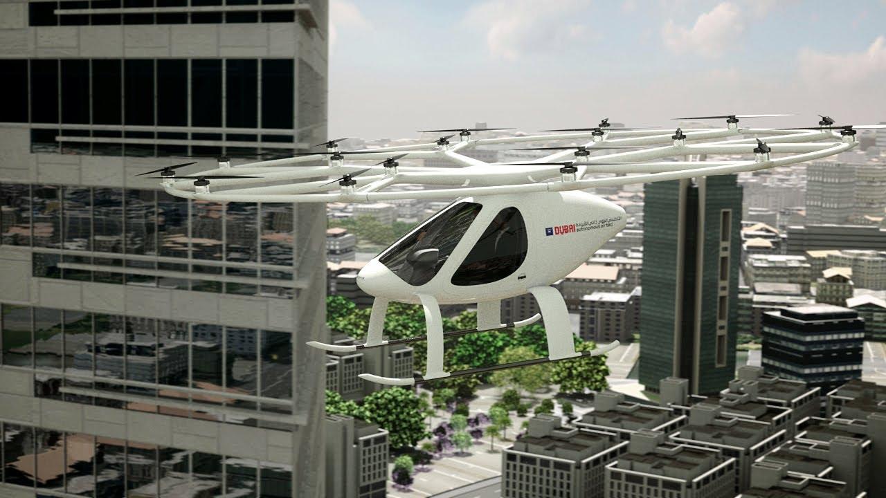 The skyline of Dubai will soon have air taxis.